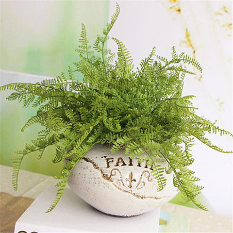 $2.32- New Hight Quality Beauty Fern Fake Plant Artificial Floral Leave Foliage Home Party Office Decoration