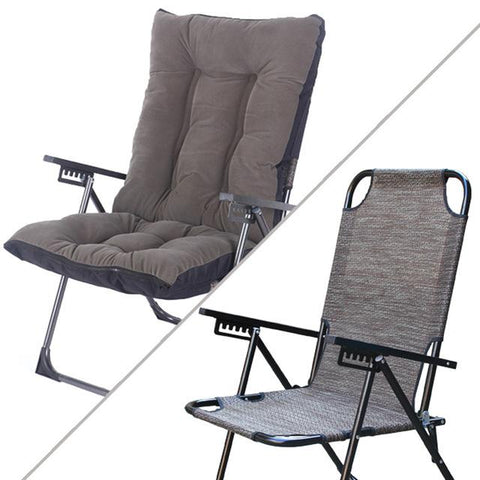 $540.40- High Quality Comfortable Lazy Chair Backrest Folding Chair W/ Adjustable Household Computer Office Chair Lying