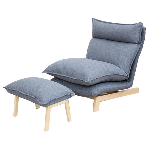 $490.36- Contemporary Folding Lazy Sofa Chair Japanese Style Foldable Sofa Living Room Furniture Multi Function Chaise Lounge Chair