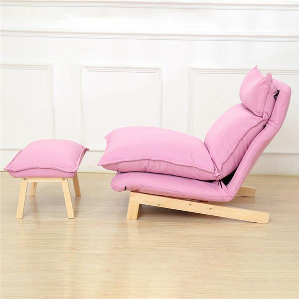 Buy Contemporary Folding Lazy Sofa Chair Japanese Style Foldable ...