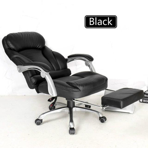Comfortable lifting computer chair 170 degrees lying home office chair luxury PU material boss chair seat office furniture