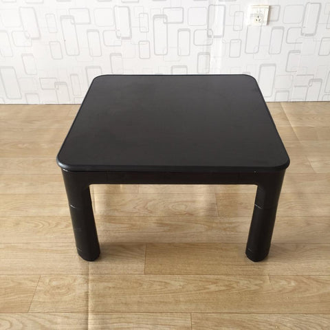 $415.80- Japanese Kotatsu Table Small 60Cm Reversible Top Black/White Living Room Furniture Foot Warmer Heated Low Coffee Table Designer
