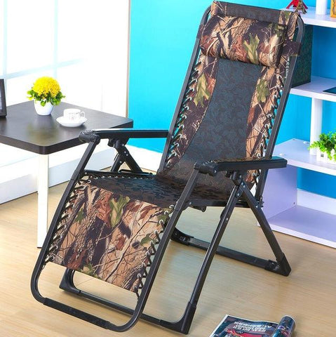 Portable Sun Loungers Outdoor Folding Easy Beach Chair Adjustable Waterproof Breathable Balcony Soft Leisure Chair Furniture
