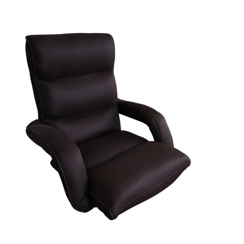 Relaxing Chair Modern Folding Armchair Sofa Mesh Fabric Furniture Living Fashion Armrest Foldable Leisure Arm Chair Design