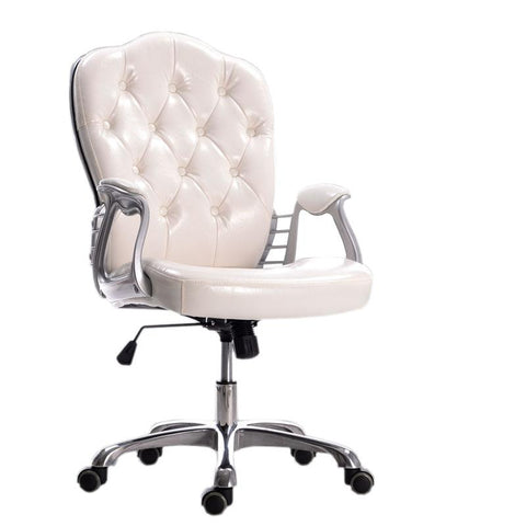 $621.56- European PU Leather Office Chair Executive Lift Swivel Leisure Chair
