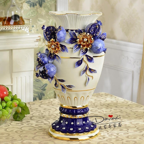 $1056.00- Living Room Decoration Highgrade Jingdezhen Ceramic Vase Decorated Wedding Gift Home Furnishing Flower