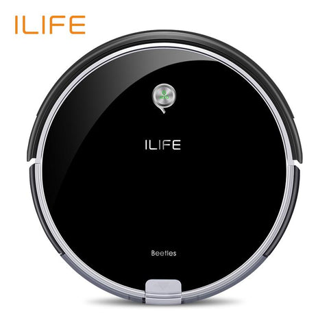 $483.98- Ilife A6 Robotic Vacuum Cleaner W/ Piano Black