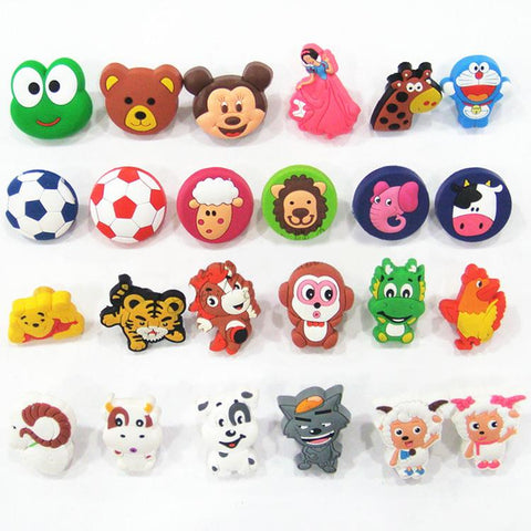 $3.69- PVC Soft Rubber Cartoon knobs Cabinet Drawer Knob Kids Wardrobe Handle Furniture Closet Dresser Pulls for Kids Nursery Rooms
