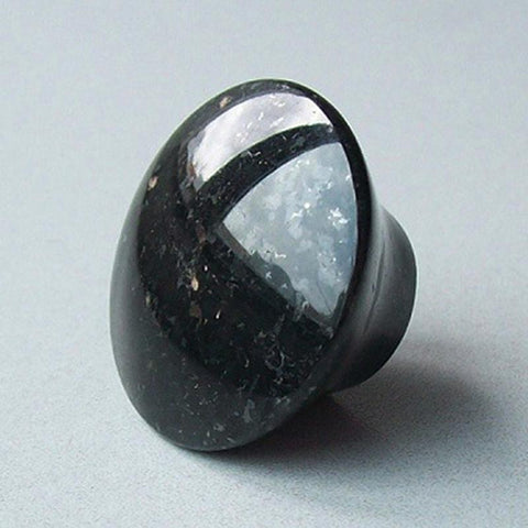 $3.78- Special Price Furniture Knob Handles Black Galaxy Granite Cupboard Door KnobsCool Kitchen Cabinet HardwareFinal