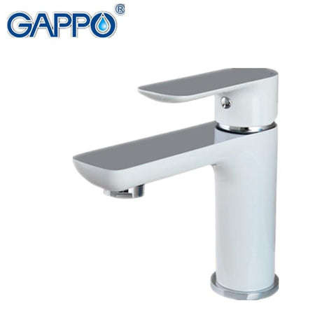 $107.67- GAPPO new white brass bathroom basin faucet hot and cold water faucets mixer sink tap bath washbasin faucet vanity grifos G1048