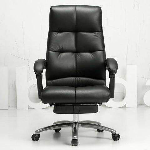 $791.84- Soft comfortable office computer chair multifunctional household leisure chair human engineering chair leather chair