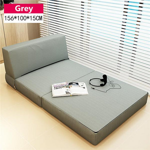 $296.26- Folding Mattress Sofa Bed W/ Removable Cover Bedroom Furniture Sleeping Futon Bed Japanese Style Floor Sofa Daybed Chaise