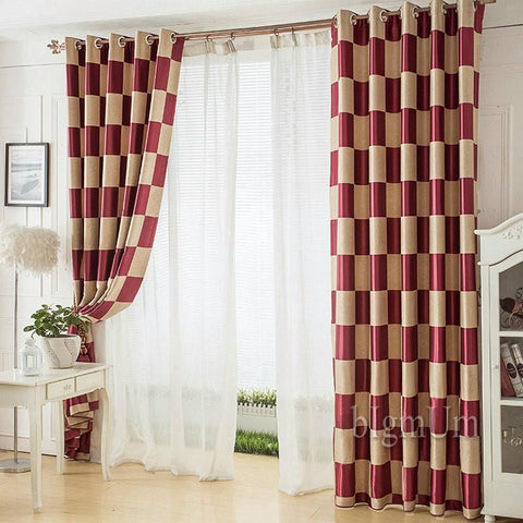 Modern Curtains Window Treatments For Living Room Curtain Wonderland Pattern Room Divider Drapes For Door