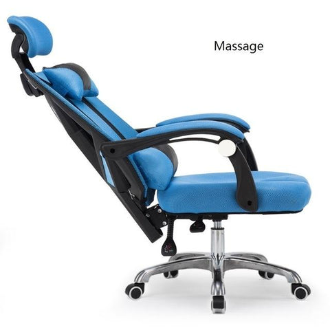$384.86- Wb#3100 Can Lay Computer Lift Cloth Home Gaming Staff Office Seat Chair Boss Lunch