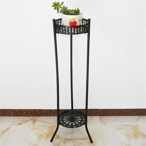 Multifunctional Modern Plants Outdoor Iron Metal Living Room Decoration Green Flower Shelf Flowerpot Rack Shelves