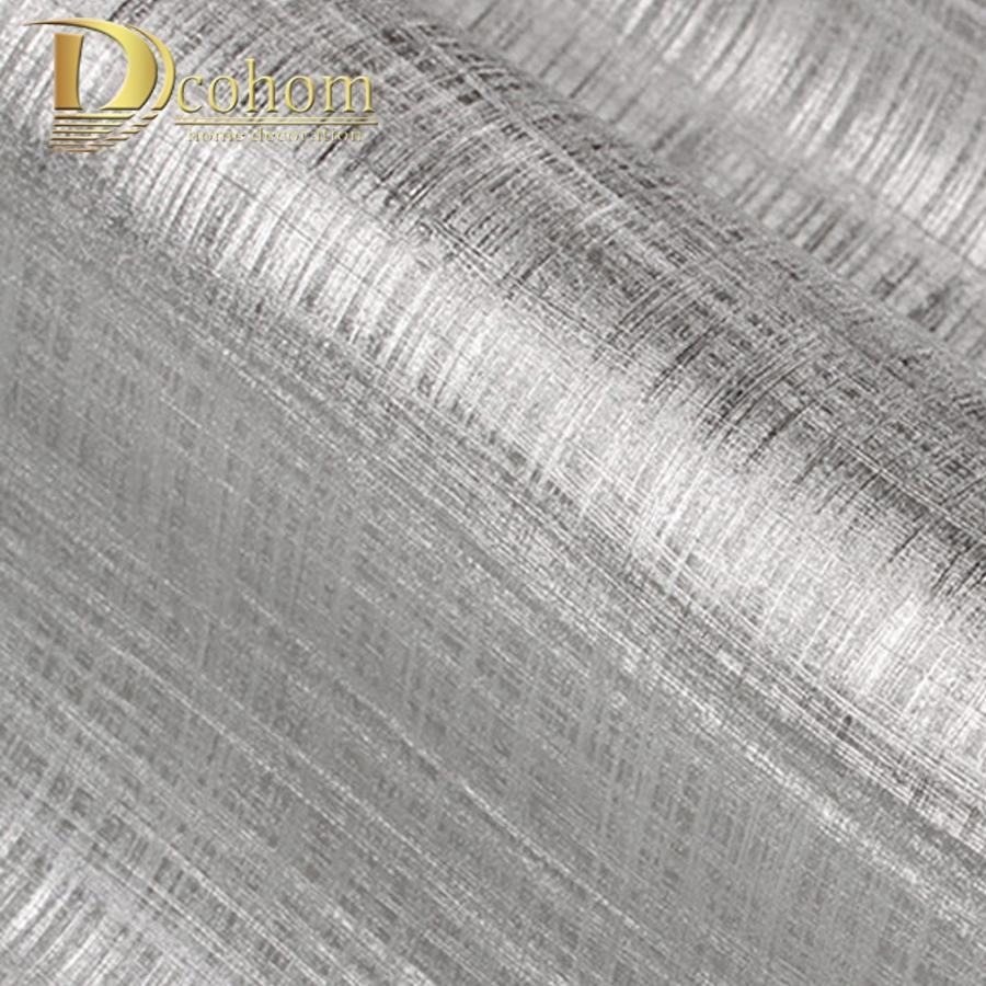 Buy Modern European Textured Silver Gold Foil Wallpaper For Walls