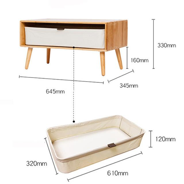 Night Table DIY Combine Side Table Storage Night Table Cabinet Living Room TV Stand Home Furniture