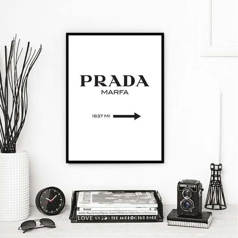 $7.62- Nordic Fashion Canvas Painting Minimalist Black White A4 Posters Prints Salon Wall Art Pictures For Living Room Home Decor