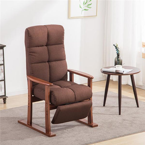 $328.35- Modern Living Room Chair Ottoman Fabric Upholstery Furniture Bedroom Lounge Reclining Armchair W/ Footstool Accent Chair