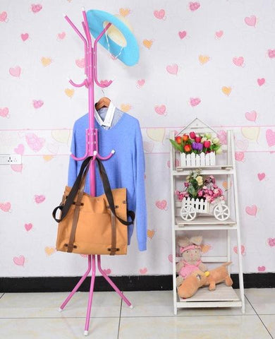 The floor coat rack hanger The bedroom clothes rack Simple fashion iron hanger free shipping
