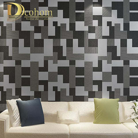 High Quality Mosaic 3D Wallpaper For Walls Decor Luxury Modern Wall Paper Rolls For Bedroom Living Room Sofa Tv Background