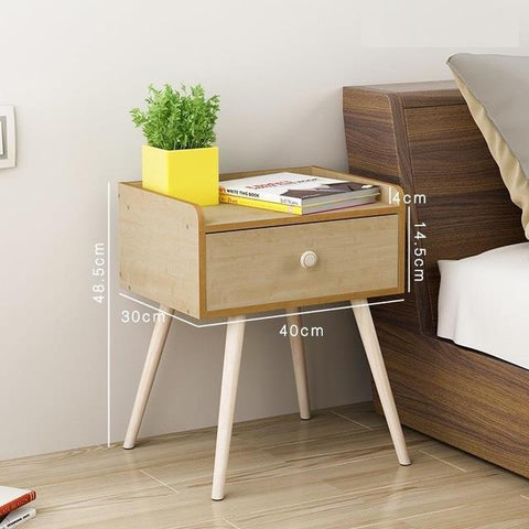 $277.54- Vanity Bedside Modern Cabinets Simple Lockers Nightstand Mini Bedroom Storage Nordic