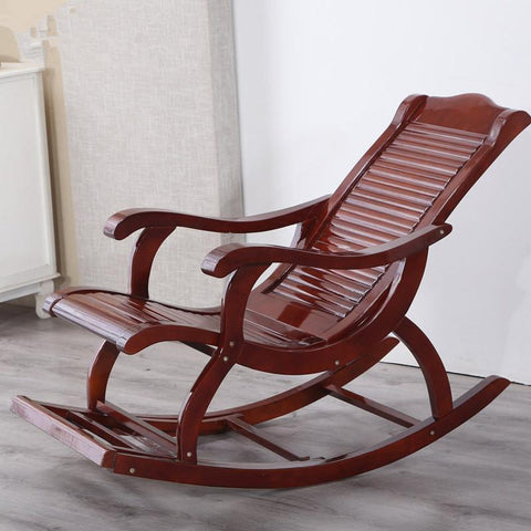 $539.56- Hardwood Indoor Modern Adult Rocking Chair Rocker Living Room Furniture Or Outdoor As Balcony Chair Wooden Porch Rocking Chair
