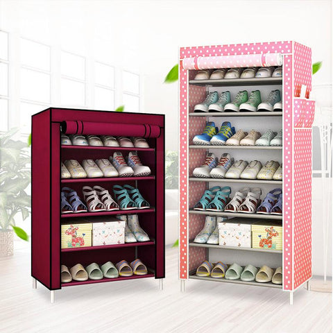 New Fashion Modern Wardrobe Nonwoven Fabric frame reinforcement DIY Assembly Storage Organizer Detachable Clothing furniture