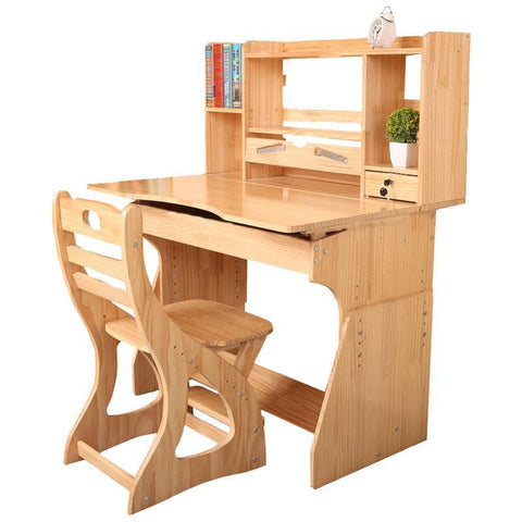 Children 'S Chairs Set Children' S Wooden Study Table Student Desk Desks