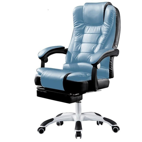 $479.60- Pi#3064 Dili Lake Computer Home Office Lying Boss Lifting Foot Massage Chair Seat Lunch