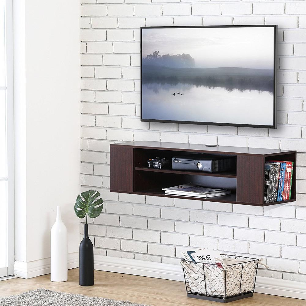 Buy Floating TV stand Wall Mount TV cabinet Media Console ...