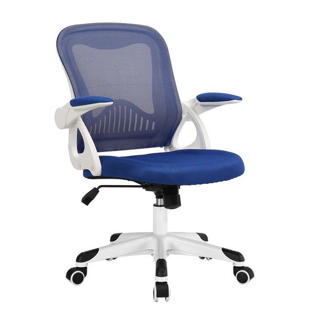 $405.57- Wb#3165 Behrman Computer Chair Home Office Modern Minimalist Learning Writing Rotating Lifting Students Ergonomics