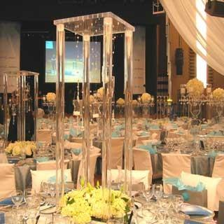 $1088.00- 80CmH Wedding Crystal Table Centerpiece Square Table Flower Stand Wedding Decoration