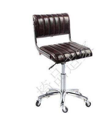 $125.46- Bar Chair Of Bar Bar. Tall Footstool. Carry Back Pulley Student Office Computer Chair