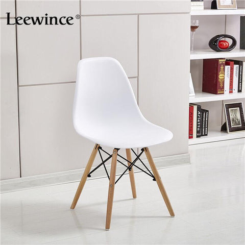 $244.97- Leewince Fashion Dining Chairs Simple Plastic Creative Leisure Coffee Design Chair Stylish Dining Chairs Contemporary