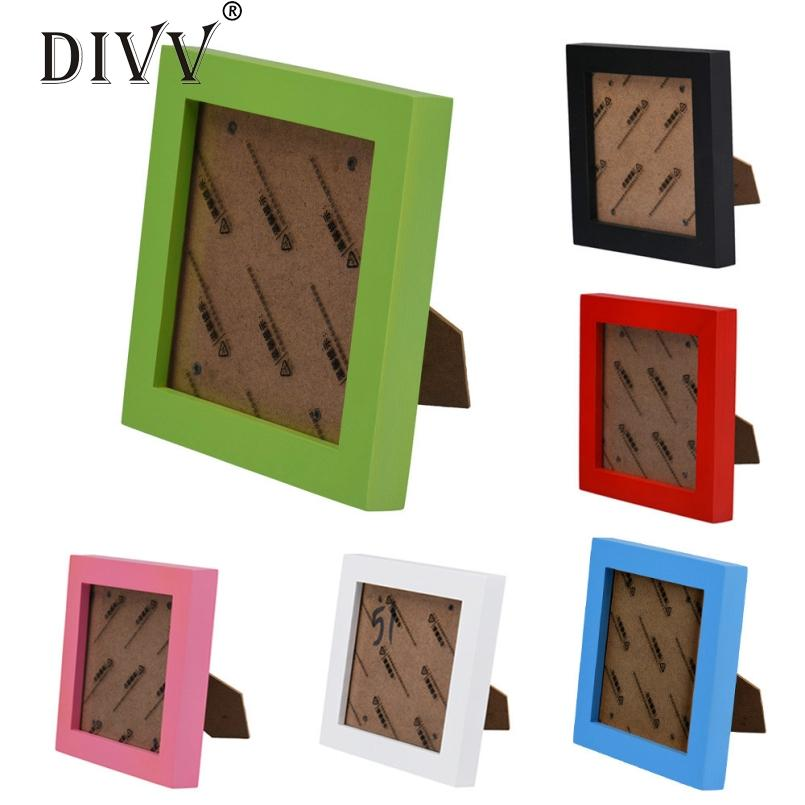 Divv Top Grand Family Vintage Photo Frame Home Decor Wooden Wedding Decoration Home Pictures Frames Vinatage Shape Family Frame