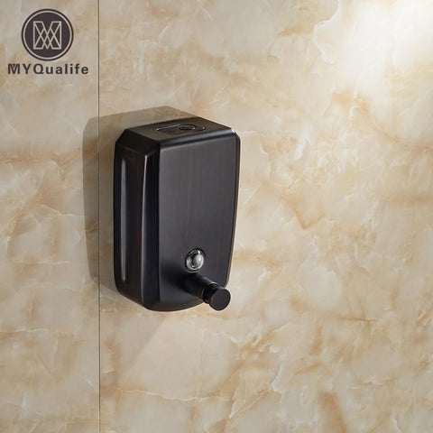 $53.57- Wall Mounted Bathroom Soap Dispenser Liquid Soap Dish Bottal 800Ml