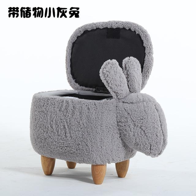 $202.90- 2018 Rushed New Arrival Wooden Modern No Chinese Porcelain Taburetes Chair Shoe Exchange Bench Rabbit Stool