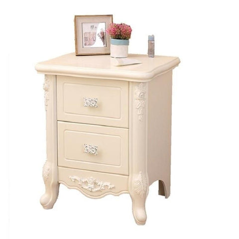 $310.10- Continental Minimalist French Modern Simple Lockers Pastoral Telephone Tables American Bedside Cabinet
