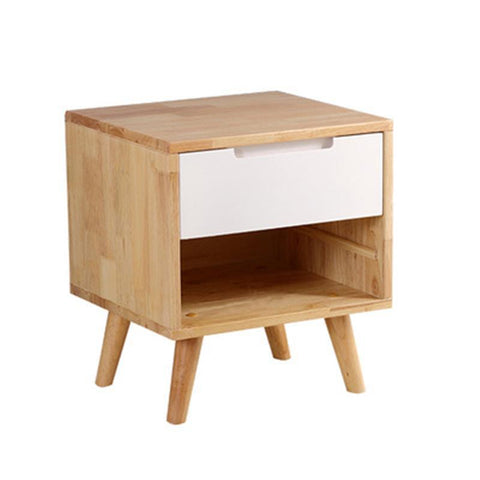 $157.54- Nordic Full Lockers Oak Jane Bedside Cabinet Creative Delivery Original Cabinets