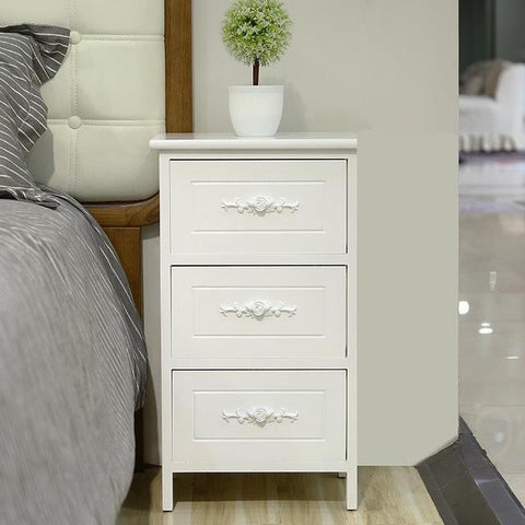 $303.17- Bedroom Bedside Cabinet Wild Lockers Modern Simple Furniture Cabinets