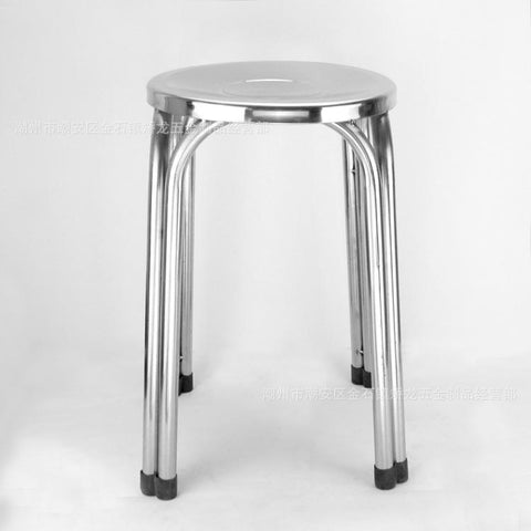 $848.30- 30*29Cm Stainless Steel Fourlegged Round Stool Nonslip Stools