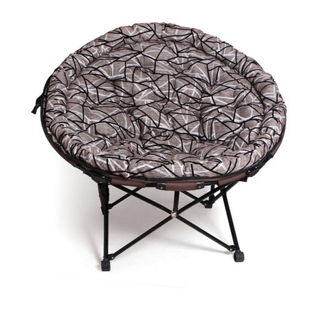 $219.79- home furniture nap lazy indoor beach leisure balcony modern outdoor living room portable round stool cadeira folding chair