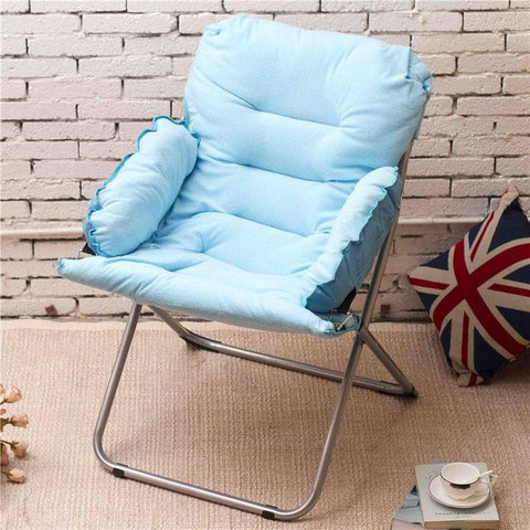 nap portable beach dormitory outdoor fishing sofa round home furniture modern lazy living room cadeira folding chair stool