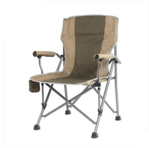 $307.15- High Quality Outdoor Large Fishing Chair Portable Folding Chair Stool Leisure Beach Sketching Chair Oxford Cloth Iron cadeira