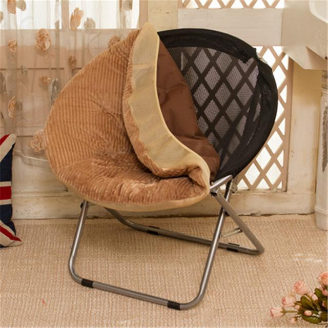$205.31- Balcony Home Furniture Nap Lazy Dormitory Outdoor Indoor Leisure Sofa Round Modern Portable Beach Stool Folding Chair Cadeira
