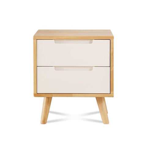$515.55- Full Cabinet Nordic Oak Color Bedroom Storage European Bedside Drawers Cabinets