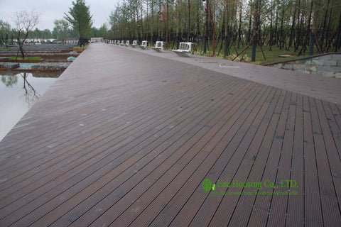 $10200.00- Outdoor Strand Woven Bamboo Decking