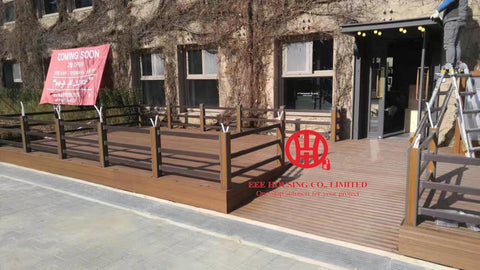$10200.00- Bamboo Outdoor Flooring / Bamboo Decking Prices / Nonslip Decking For