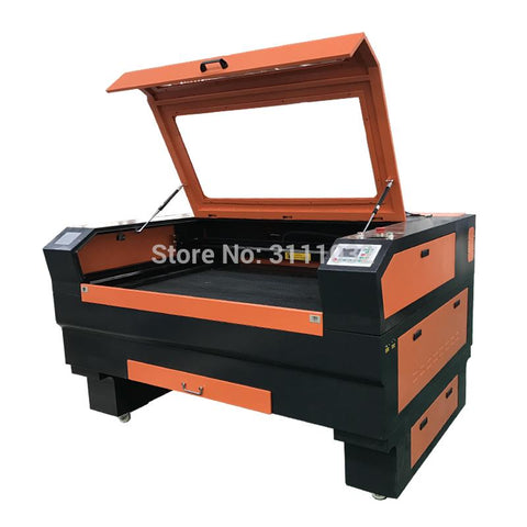 Brand New 1390 Acrylic Bamboo Wood Mdf Plywood Co2 Double Heads Laser Cutting Machine